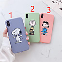 cheap iPhone Cases-Case For Apple iPhone XR / iPhone XS Max Pattern / Frosted Back Cover Cartoon Soft TPU for iPhone X /Xs / 6 /6 Plus / 6S /6S Plus / 7 / 7 Plus / 8 / 8 Plus