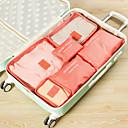 ieftine Genți Călătorie-Organizator Bagaj de Călătorie / Kit de Călătorie Capacitate Înaltă / Portabil / Rezistent la Praf pentru Net / Nailon 37.5*27*12 cm Toate / Unisex Voiaj / Călătorie / Accesorii sac / Geantă Pantofi