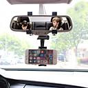 رخيصةأون حامل سيارة-سيارة جبل حامل حامل الزجاج الأمامي قابل للتعديل / 360 درجة دوران ABS حائز