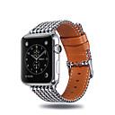 Недорогие Автомобильные зарядные устройства-Ремешок для часов для Apple Watch Series 4/3/2/1 Apple Классическая застежка Материал Повязка на запястье