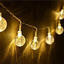 ieftine Benzi Flexibile Becuri LED-1set condus lumina șir 1,5m 10 lumini bule 18mm minge retro lumina luminii caseta de lumină cutie