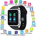 levne Chytré hodinky-Kimlink A1S Dámské Inteligentní hodinky Android Bluetooth Dotykový displej Spálené kalorie Hands free hovory FM rádio Fotoaparát Krokoměr Záznamník hovorů Sledování aktivity Měřič spánku sedav