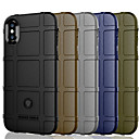 cheap iPhone Cases-Case For Apple iPhone XS / iPhone XR / iPhone XS Max Shockproof Back Cover Solid Colored Soft TPU