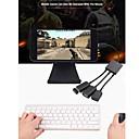 abordables Câbles pour Mac-Type-C Adaptateur / Câble <1m / 3ft OTG PP / ABS + PC Adaptateur de câble USB Pour Macbook