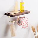 cheap Bathroom Gadgets-Toilet Paper Holder Creative Fun & Whimsical Wood 1pc - Bathroom / Hotel bath Wall Mounted