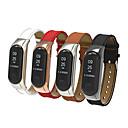 voordelige Horlogebandjes voor Fitbit-Horlogeband voor Mi Band 3 Xiaomi Sportband Metaal / Echt leer Polsband