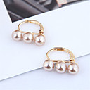 cheap Bathroom Gadgets-Women's Stud Earrings Earrings Past Present Future Stylish Korean Cute Elegant Imitation Pearl Earrings Jewelry White / Champagne For Gift Daily Holiday Work 1 Pair