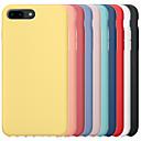 رخيصةأون أغطية أيفون-الحال بالنسبة لتفاح iphone 6 / iphone 6 plus iphone 6s iphone7 iphone8 iphone7plusiphone8plus iphone x / xs / xsmas الغطاء الخلفي للصدمات الصلبة الملونة pc الصعب / هلام السيليكا ل