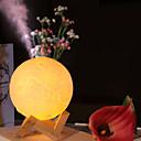 رخيصةأون Humidifiers-ضوء القمر المرطب usb امدادات الطاقة البسيطة مريحة سعة كبيرة تنقية الهواء مرطب كتم يلة ضوء المرطب 3 أنواع لون فاتح 880 ملليلتر