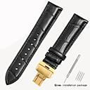 رخيصةأون Smart Plug-جلد أصلي / تمساح حزام حزام إلى أسود / بني 18cm / 7 Inches / 19cm / 7.48 Inches 1.6cm / 0.6 Inches / 1.8cm / 0.7 Inches / 1.9cm / 0.75 Inches