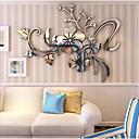 رخيصةأون ملصقات ديكور-لواصق حائط مزخرفة - لواصق / ملصقات الحائط على المرآة عربية / 3D غرفة النوم / داخلي