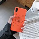 رخيصةأون أغطية أيفون-غطاء من أجل Apple iPhone XS / iPhone XR / iPhone XS Max نموذج غطاء خلفي جملة / كلمة قاسي الكمبيوتر الشخصي