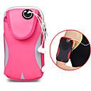 رخيصةأون أغطية أيفون-حقيبة الخصر للرجال والنساء السفر الرياضية مزدوجة للماء قابل للتعديل حقيبة سفر جيوب 6 بوصة