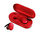 cheap True Wireless Earbuds-DT-1 TWS Mini Bluetooth Earphone V5.0 True Wireless Earbuds Stereo Waterproof Sport Earphone with Microphone Charging Box
