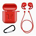 billige Headset og hovedtelefoner-1set tpu silikone bluetooth trådløse øretelefon kuffert til airpods beskyttelsesdæksel hud tilbehør til æble airpods opladningsboks