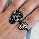 ieftine Împachetare Bijuterii & Ecrane-Pentru cupluri manşetă Ring Dulce Inele la Modă Bijuterii Curcubeu Pentru Petrecere Cadou Ajustabil 2pcs