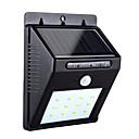 ieftine Lumini Poștă-hkv® 8led lumina solară de grădină a condus lampa solare senzor de mișcare impermeabil în aer liber de iluminat de iluminat stradă lumini de securitate wireless lampă de perete