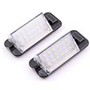 ieftine Lumini de Ceață Mașină-2pcs 18smd led numar placute de inmatriculare lmp pentru bmw e36 318i 328i m3
