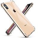abordables Coques d'iPhone-cas pour apple iphone xr iphone xs max transparent couverture ultra-mince antichoc solide couleur tpu dur pour iphone 8 8 plus 7 plus 7 xs
