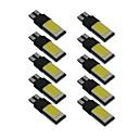 ieftine Lumini de Interior Mașină-10pcs T10 Mașină Becuri 6 W COB LED Bec Placuțe Înmatriculare / Bec Muncă / coada de lumină Pentru Παγκόσμιο Toți Anii