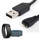 Χαμηλού Κόστους Λουράκια καρπού για Fitbit-Παρακολουθήστε Band για Fitbit Force / Fitbit Charge HR Samsung Galaxy / Fitbit Αθλητικό Μπρασελέ καουτσούκ Λουράκι Καρπού