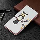 Недорогие Чехлы и кейсы для Galaxy S5 Mini-Кейс для Назначение SSamsung Galaxy Galaxy A7(2018) / Galaxy A10 (2019) / Galaxy A30 (2019) Кошелек / Бумажник для карт / со стендом Чехол Животное Твердый Кожа PU