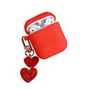 ieftine Cercei-solid culoare dragoste caz airpods pandantiv cutie de depozitare Apple airpods caz căști