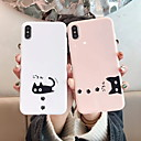economico Collana-Custodia Per Apple iPhone XS Max / iPhone 6 Fantasia / disegno Per retro Cartoni animati Morbido TPU per iPhone XS / iPhone XR / iPhone XS Max