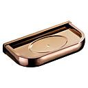 economico Gadget per il bagno-portasapone in oro rosa& titolari nuovo design moderno / contemporaneo ottone 1pc - bagno / vasca da bagno hotel fissato al muro