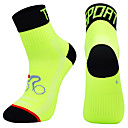 رخيصةأون الدرجات النارية وأجزاء السيارات-جوارب ضغط جوارب رياضية / جوارب رياضية جوارب طاقم جوارب ركوب الدراجة رجالي كرة القدم أخضر / الدراجة الدراجة / ركوب الدراجة متنفس يمكن ارتداؤها 1 زوج الشتاء لون الصلبة نايلون برتقالي أخضر أزرق M L XL