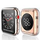 preiswerte Apple Watch Hüllen-transparent tpu für apple watch series 3 2 1 38mm 42mm 360 full clear displayschutzfolie für iwatch 4 44mm 40mm