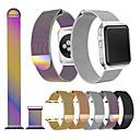 economico Cinturini per Apple Watch-Cinturino per orologio  per Apple Watch Series 4/3/2/1 Apple Cinturino sportivo / Cinturino a maglia milanese Acciaio inossidabile Custodia con cinturino a strappo