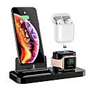 abordables Correas para Apple Watch-Soporte de carga magnética floveme 3 en 1 para todo tipo de teléfono / airpods / apple watch1234