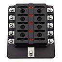 ieftine Momeală Pescuit-32v dc 1-10 căi cutie de siguranțe auto cu indicator indicator led universal (terminale cu șurub)