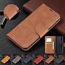ieftine Carcase / Huse de LG-carcasa pentru iphone xs max / xs / xr / 8 plus / 7 plus 6s plus rabatabil magnetic portofel din piele portofel carcasă telefon mobil
