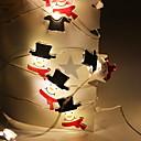 رخيصةأون المكياج & العناية بالأظافر-2M الإبداعية لطيف سلسلة أضواء ثلج 20 المصابيح الدافئة الأبيض عيد الميلاد حزب الديكور 5V 1set