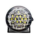ieftine Lumini de Ceață Mașină-2pcs 12v 18L drl rotund lampă de ceață masina de conducere în timpul zilei de funcționare lumina alb strălucitor