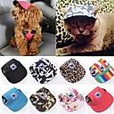 ieftine Imbracaminte & Accesorii Căței-Pisici Câine Sport Hat Capul vizorului Îmbrăcăminte Câini Floral / Botanic Negru Culoare Camuflaj Dungi Terilenă Material oxford Costume Pentru Husky Labrador Malamute de Alasca Primăvară Vară
