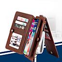 Недорогие Чехлы и кейсы для Galaxy S6-чехол для телефона сальто musubo для apple iphone 7 plus / iphone 8 plus / iphone xs / iphone x / iphone 6 / 6s / iphone xr / iphone xs max многофункциональный бумажник съемная оболочка для iphone 5 /