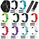 رخيصةأون أساور ساعات Garmin-حزام إلى Approach S60 / Fenix 5 / Fenix 5 Plus Samsung Galaxy عصابة الرياضة سيليكون شريط المعصم