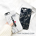 cheap iPhone 6s / 6 Screen Protectors-Case For Apple iPhone XS / iPhone XR / iPhone XS Max/7/8/6/7 Plus/8 Plus/6S/6S Plus/6 Plus Ring Holder / Frosted / Pattern Back Cover Marble Acrylic