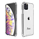 رخيصةأون أغطية أيفون-غطاء من أجل Apple اي فون 11 / iPhone 11 Pro / iPhone 11 Pro Max ضد الصدمات / ضد الغبار غطاء خلفي شفاف TPU