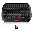 رخيصةأون لوحات المفاتيح-Rii i5 2.4GHz اللاسلكية الهواء ماوس ميني لوحة المفاتيح ميني مع لوحة اللمس خلفية بيضاء 63 pcs مفاتيح
