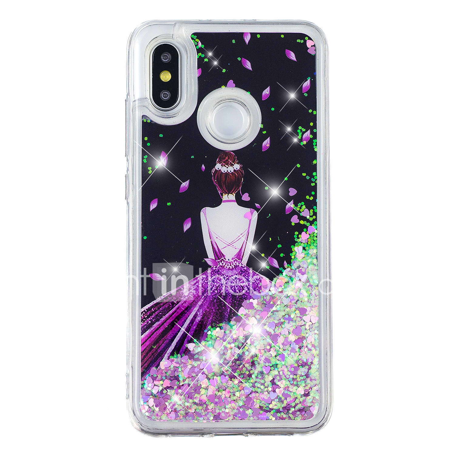 huge selection of 81076 a0537 Case For Xiaomi Xiaomi Redmi Note 5 Pro / Xiaomi Redmi Note 4X / Xiaomi  Redmi Note 4 Flowing Liquid / Pattern / Glitter Shine Back Cover Sexy Lady  / ...