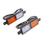 billiga -vehemo vinge dubbelfärg varningsljus bakljus bil baklyktor tillbehör lastbil universellt fordon