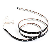 90cm 45x1210 SMD blå LED strip lys for bil (12V DC)