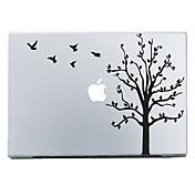 Calcomanía de Árbol y Pájaros para el MacBook Air Pro de 28,33,38cm