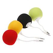 MP3 MP4 휴대폰 PC 태블릿용 3.5mm 패션 창의적인 귀여운 미니 음악 풍선 스피커    (다양한 색상)