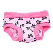 Perro Pantalones Ropa para Perro Lazo Rosa Algodón Disfraz Para mascotas