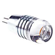 3000lm G4 LED-spotpærer 1 LED perler Høyeffekts-LED Varm hvit 12V